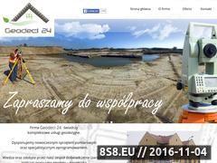 Miniaturka www.geodeci24.pl (Usługi Geodezyjne)