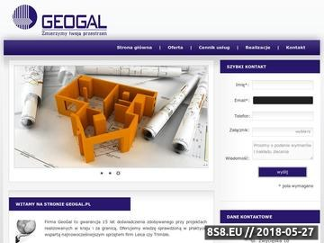 Zrzut strony Geodeta Wrocław