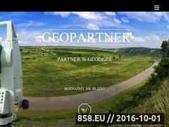 Miniaturka domeny www.geopartner.gda.pl