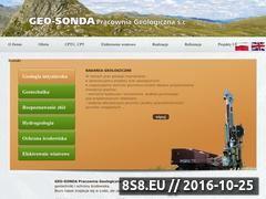 Miniaturka domeny www.geosonda.pl