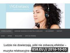 Miniaturka gerelaxis.pl (Muzyka relaksacyjna dla każdego)