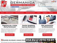 Miniaturka domeny www.germanica.com.pl