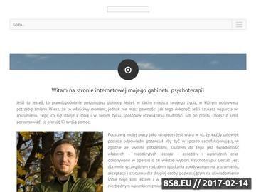 Zrzut strony Psychoterapia Kraków
