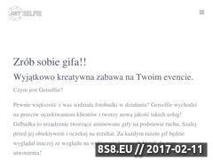 Miniaturka www.getselfie.pl (Wynajem fotobudki na imprezy)