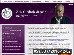 Miniaturka domeny giedrojc.com.pl