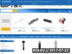Miniaturka www.gifts24.pl (Gadżety reklamowe z nadrukiem.)
