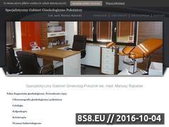 Miniaturka domeny ginekolog-rabalski.pl