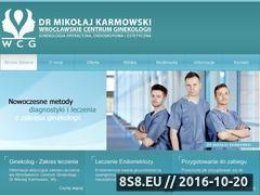 Miniaturka domeny ginekologwroclaw.com.pl