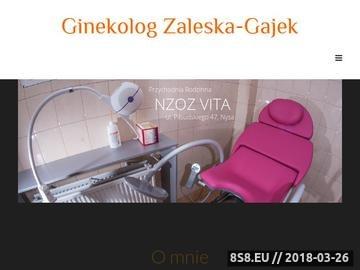 Zrzut strony Gabinet ginekologiczny Wrocław