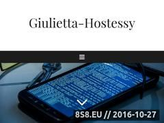 Miniaturka domeny www.giulietta-hostessy.pl