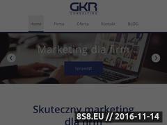 Miniaturka domeny gkrconsulting.pl