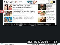 Miniaturka domeny www.glamki.pl