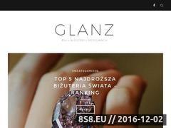 Miniaturka domeny glanz.pl