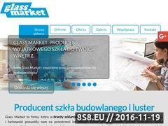 Miniaturka Szkło budowlane, laminowanie i szyby (glassmarket.pl)