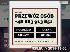 Miniaturka glob-bus.com.pl (Busy do Niemiec, Holandii i Belgii)