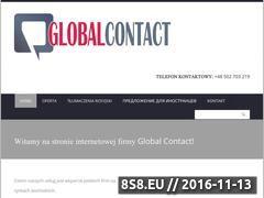 Miniaturka domeny globalcontact.pl