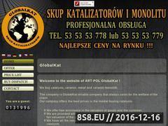 Miniaturka domeny www.globalkat.pl