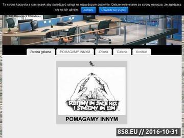 Zrzut strony Meble Biurowe i Metalowe
