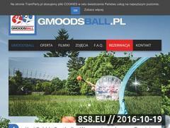 Miniaturka gmoodsball.pl (Organizator gier Bubble Football w Warszawie)