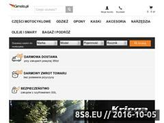 Miniaturka gmoto.pl (Części motocyklowe, akcesoria, odzież i obuwie)