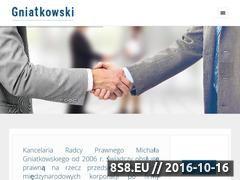Miniaturka domeny gniatkowski.com