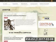 Miniaturka domeny www.gniotek.com