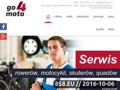 Miniaturka go4moto.pl (Sprzedaż oraz serwis motocykli Junak)