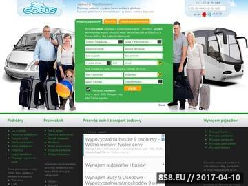 Zrzut strony Wynajem autokarów - Ogólnopolski Portal Przewozowy