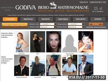 Zrzut strony Godiva - Biuro Matrymionialne