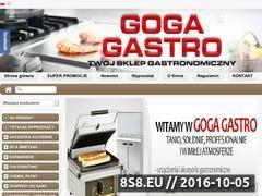 Miniaturka domeny www.goga-gastro.pl