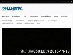 Miniaturka gokamery.pl (Autoryzowany sklep z kamerami i akcesoriami - GoPro Warszawa)