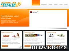 Miniaturka domeny www.goldcom.pl