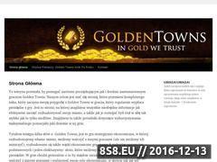 Miniaturka goldentowns24.pusku.com (GoldenTowns - gra przeglądarkowa)