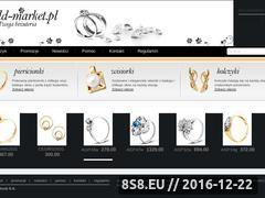 Miniaturka domeny www.goldmarket.pl