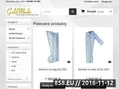 Miniaturka domeny goldmedic.pl