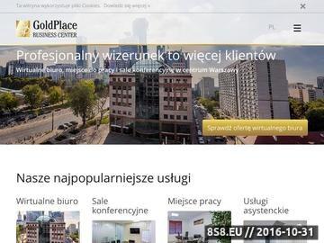 Zrzut strony Biuro wirtualne Warszawa