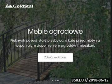 Zrzut strony Balustrada ze szkła - Warszawa