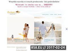 Miniaturka domeny www.goldsyriusz.pl