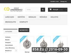 Miniaturka domeny goldurbanowicz.pl