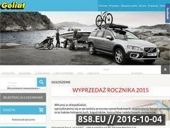 Miniaturka domeny goliat.com.pl