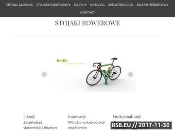 Zrzut strony Stojaki rowerowe