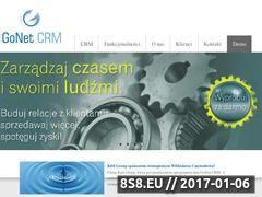 Miniaturka domeny www.gonetcrm.pl