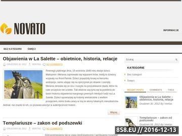 Zrzut strony Blog o charakterze religijnym - Gongo.pl