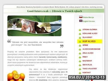Zrzut strony Alveo-Akuna: preparat i zioła Alveo
