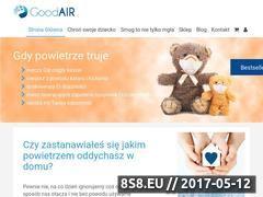 Miniaturka goodair.pl (Oczyszczacze powietrza Sharp i Boneco Woods)