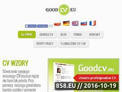 Miniaturka domeny goodcv.com.pl