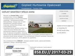 Miniaturka domeny goplastprzedstawiciel.com.pl