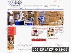 Miniaturka gorskaosada.pl (Wynajem domków w Zakopanym)