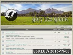 Miniaturka gorybezgranic.pl (Góry bez granic)