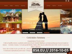 Miniaturka domeny www.gosciniecszumny.pl